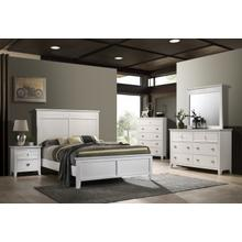 Bessey Queen 4PC Bedroom Set, White