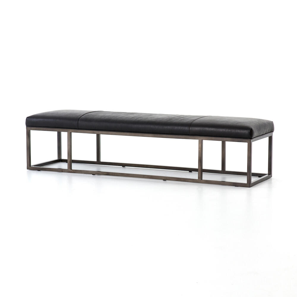 Rider Black Cover Beaumont Bench