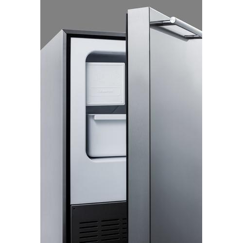 12 Lb. Drain-free Icemaker, ADA Compliant