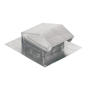 Broan-NuTone® Roof Cap, Aluminum, for 3-Inch or 4-Inch Round Duct