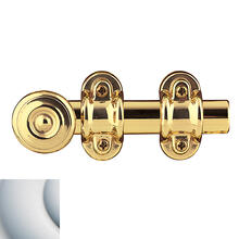 Satin Chrome Ornamental Heavy Duty Surface Bolt