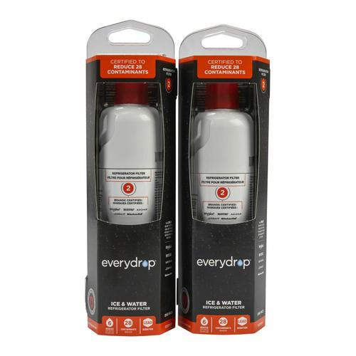 everydrop® Refrigerator Water Filter 2 - EDR2RXD1 (Pack of 2) - 2 Pack