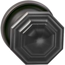 Interior Traditional Knob Latchset in (US10B Black, Oil-Rubbed, Lacquered)