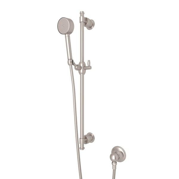 Satin Nickel Michael Berman Zephyr Single-Function Handshower Set