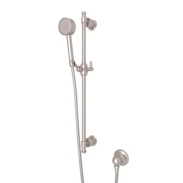 Satin Nickel Michael Berman Zephyr Single-Function Handshower Set