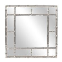 Bamboo Mirror - Glossy Nickel
