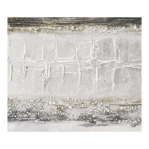 Layered Grey Wall Décor