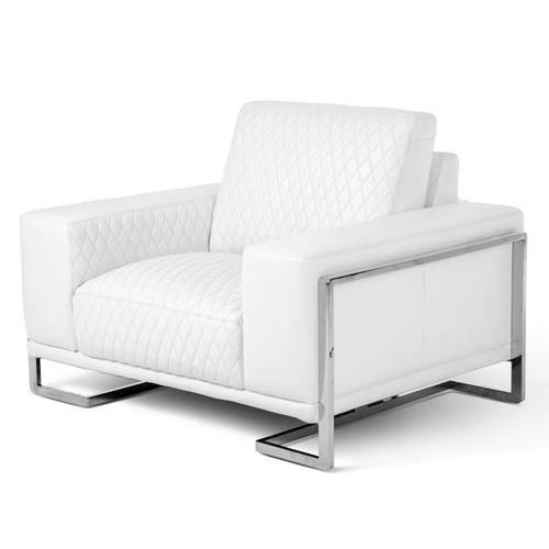 Miabella Gianna Chair and Half Stainlesssteel