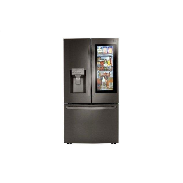 LG Appliances 24 cu. ft. Smart wi-fi Enabled InstaView™ Door-in-Door® Counter-Depth Refrigerator with Craft Ice™ Maker