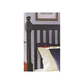 Slat Poster Bed with Storage Footboard Queen & King