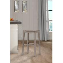See Details - Fiddler Backless Non-swivel Counter Stool - Aged Gray