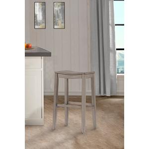 Fiddler Backless Non-swivel Counter Stool - Aged Gray