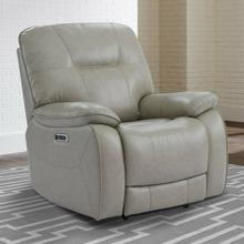 View Product - AXEL - PARCHMENT Power Recliner