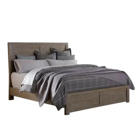 Ruff Hewn California King Panel Bed Side Rails in Weathered Taupe