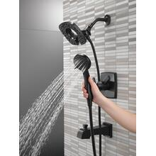 Matte Black Monitor ® 17 Series Shower Trim with In2ition ®