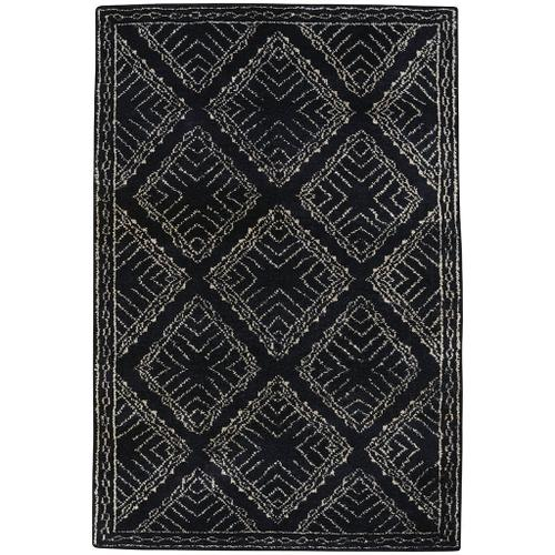 Kasbah-Crystal Black - Rectangle - 5' x 8'