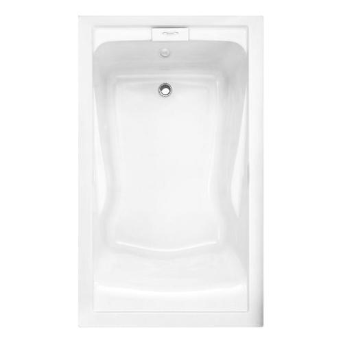 Evolution 60x36 Inch Deep Soak EverClean Air Bath - Arctic White