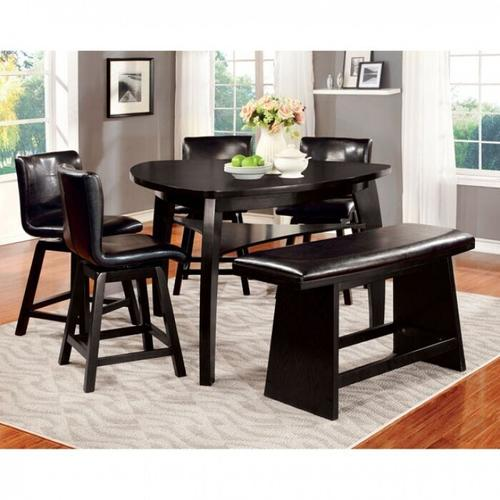 Furniture of America - Hurley Counter Ht. Chair (2/box)