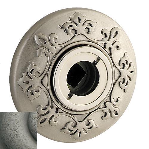 Baldwin - Distressed Antique Nickel R011 Estate Rose