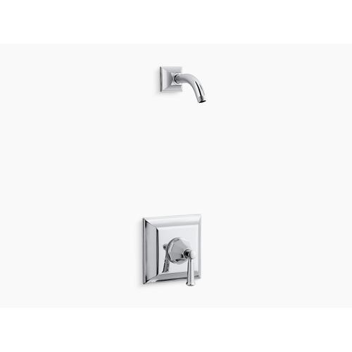 Kohler - Polished Chrome Rite-temp Shower Trim Set With Lever Handle, Less Showerhead