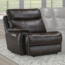 See Details - DYLAN - MAHOGANY Power Left Arm Facing Recliner