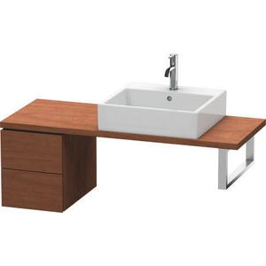 Low Cabinet For Console Compact, American Walnut (real Wood Veneer)