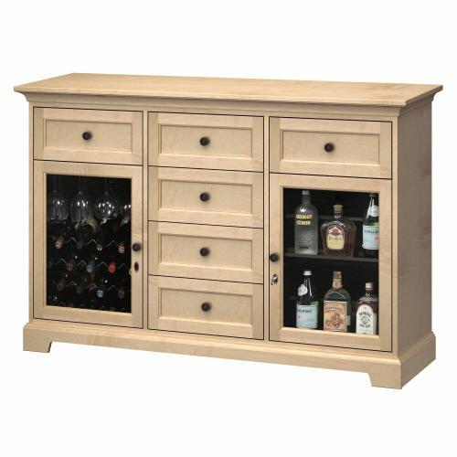 Product Image - WS63A Wine & Bar Custom Console
