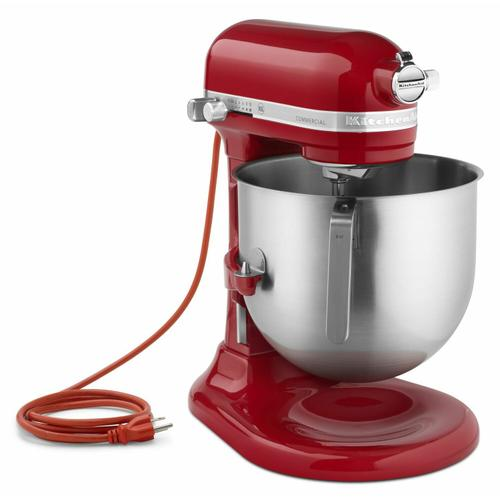 Gallery - NSF Certified® Commercial Series 8-Qt Bowl Lift Stand Mixer - Empire Red