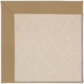Creative Concepts-White Wicker Canvas Linen