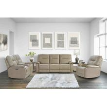 See Details - AXEL - PARCHMENT Power Reclining Collection