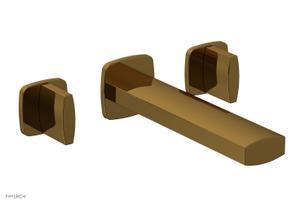 RADI Wall Lavatory Set - Blade Handles 181-11 - French Brass Product Image