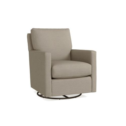 See Details - Trent Outdoor Swivel Chair