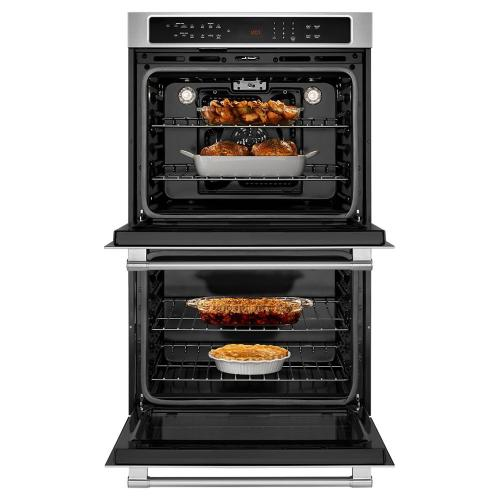 Maytag Canada - 27-INCH WIDE DOUBLE WALL OVEN WITH TRUE CONVECTION - 8.6 CU. FT.