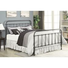 Livingston Transitional Dark Bronze Twin Bed