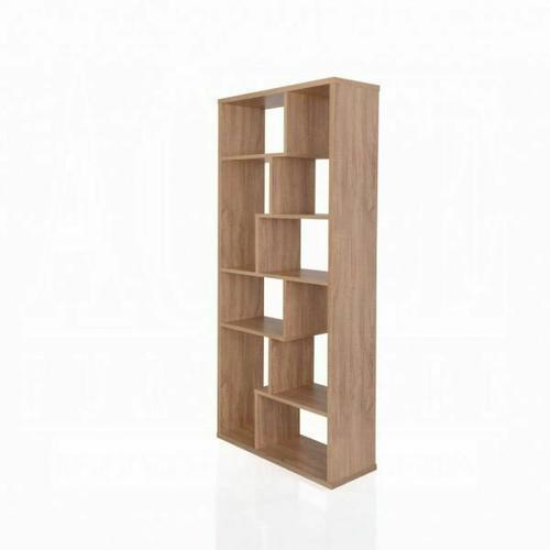 ACME Mileta II Bookshelf - 92402 - Weathered Light Oak