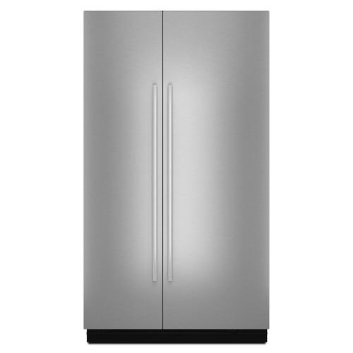 """JennAir - Euro-Style 48"""" Fully Integrated Built-In Side-by-Side Panel-Kit Stainless Steel"""