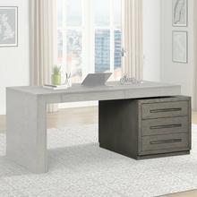 See Details - PURE MODERN Executive Desk Base