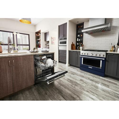 KitchenAid - 44 dBA Dishwasher with FreeFlex™ Third Rack and LED Interior Lighting - Stainless Steel with PrintShield™ Finish