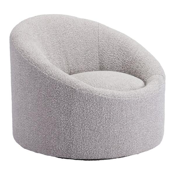 See Details - Venice Accent Chair Gray