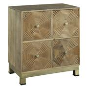 2-7928 Drawer Chest with Carved Octagon Pattern Product Image