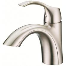 Brushed Nickel Antioch® Single Handle Lavatory Faucet
