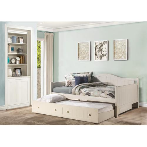 Staci Complete Full-size Daybed With Trundle, White