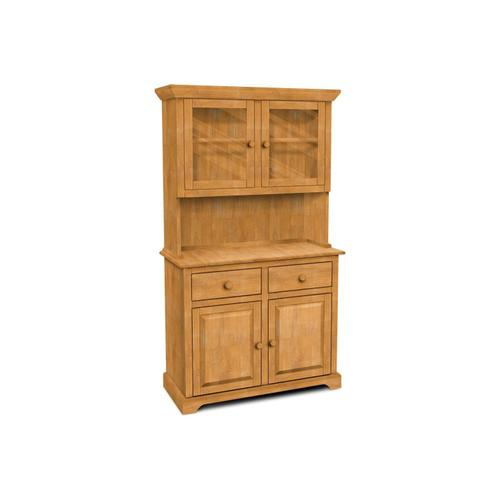 Product Image - 2 Door Hutch (shown w/B-2 which is sold separately)