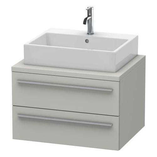Vanity Unit For Console, Concrete Gray Matte (decor)