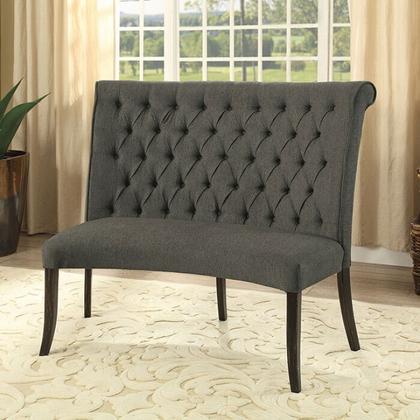 See Details - Nerissa Round Love Seat Bench Fabric