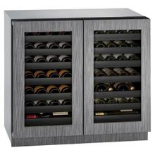 """View Product - 3036wcwc 36"""" Dual-zone Wine Refrigerator With Integrated Frame Finish (115 V/60 Hz Volts /60 Hz Hz)"""