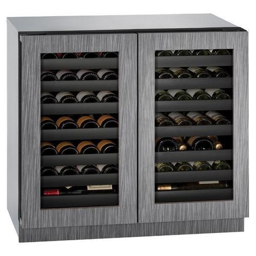 "U-Line - 3036wcwc 36"" Dual-zone Wine Refrigerator With Integrated Frame Finish (115 V/60 Hz Volts /60 Hz Hz)"
