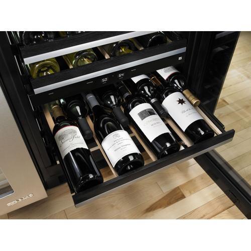 "JennAir - Euro-Style 24"" Under Counter Wine Cellar Stainless Steel"