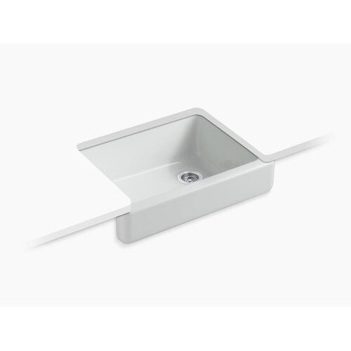 "Ice Grey 29-1/2"" X 21-9/16"" X 9-5/8"" Undermount Single-bowl Farmhouse Kitchen Sink"