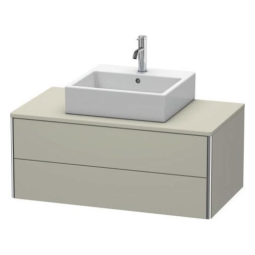 Product Image - Vanity Unit For Console Wall-mounted, Taupe Satin Matte (lacquer)